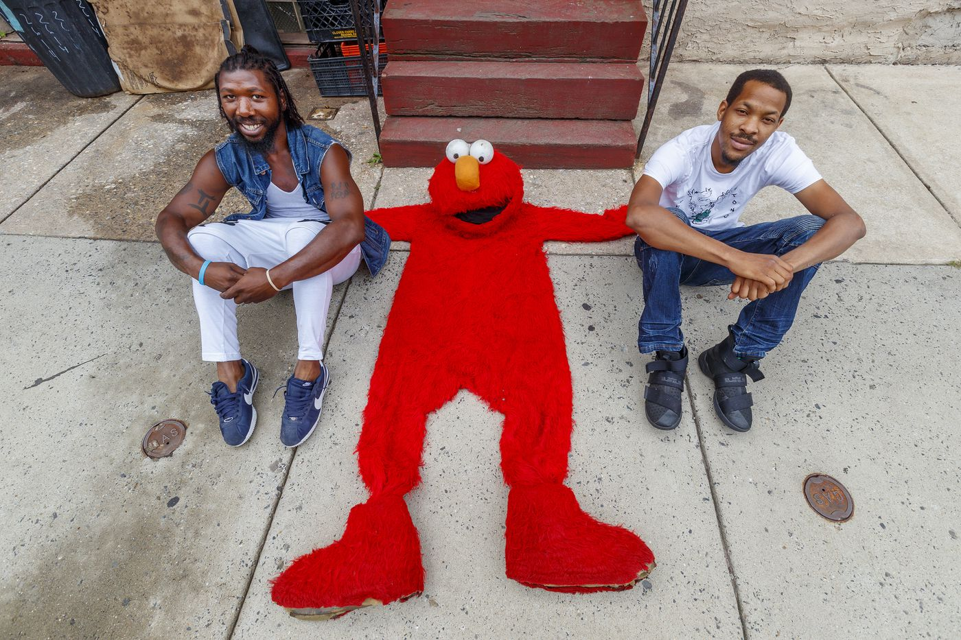 Elmo went viral at the Kensington scrapyard fire – then he got locked up