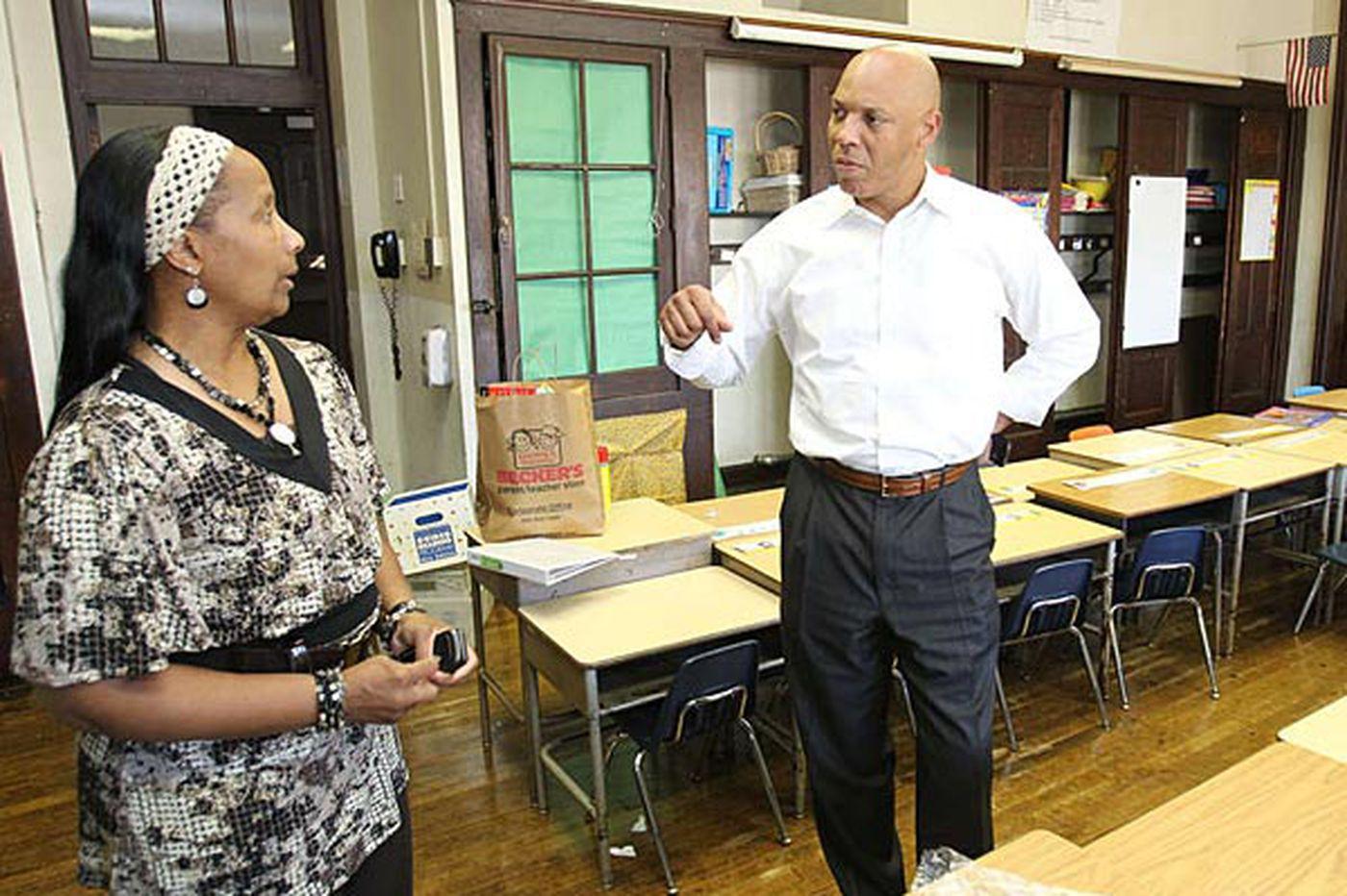 Gov. Corbett releases funding for city schools