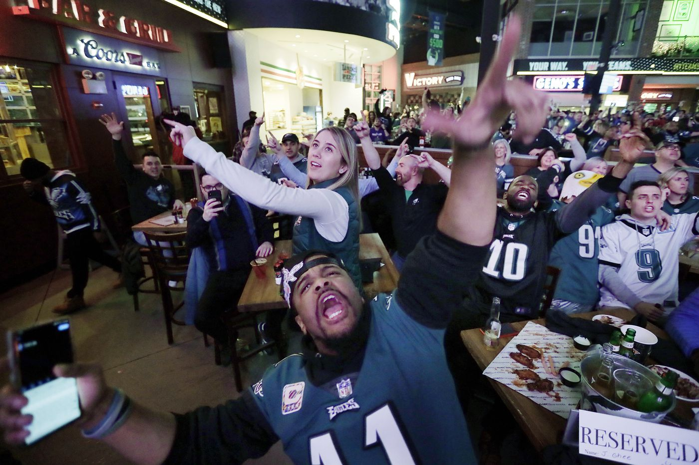 What time do Eagles home playoff game tickets against the Seahawks go on sale?