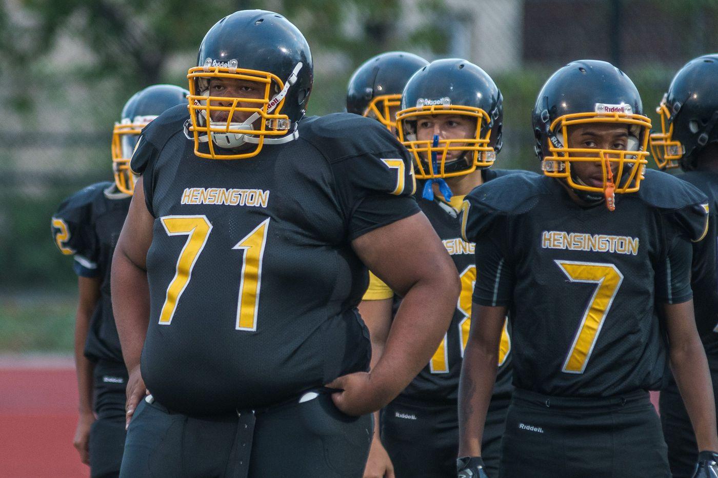 Kensington High School football team raising money after equipment stolen, vandalized