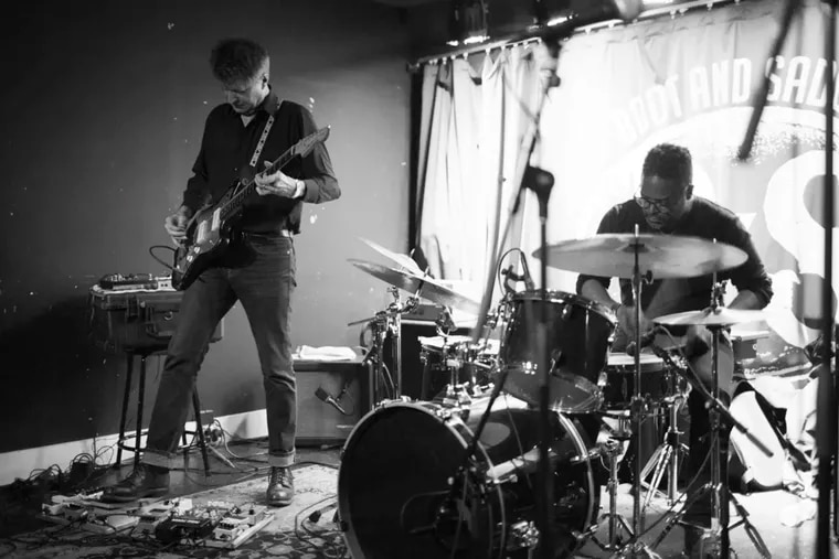 Nels Cline on guitar and Gerald Cleaver on drums in January at Boot & Saddle. Their new trio, with saxophonist Larry Ochs, return this week to Philadelphia.