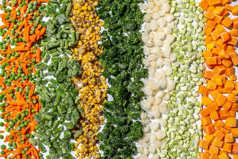 Frozen vegetables are cheap and nutritious. MUST CREDIT: Photo by Laura Chase de Formigny for The Washington Post.