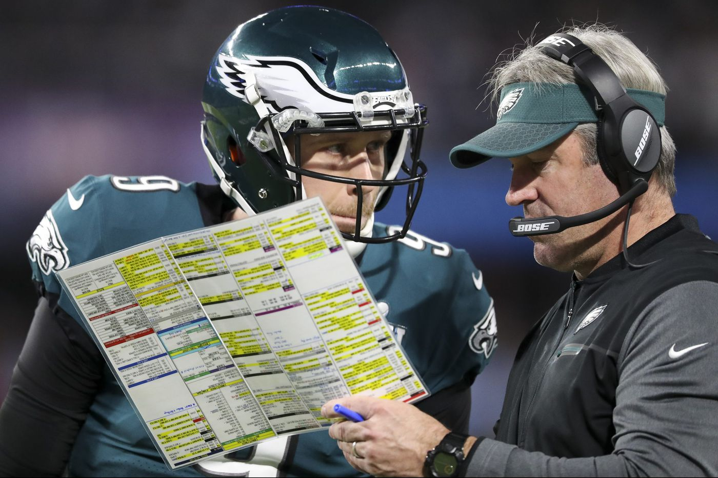 Eagles defenders know how hard it is to stop the team's run-pass option plays