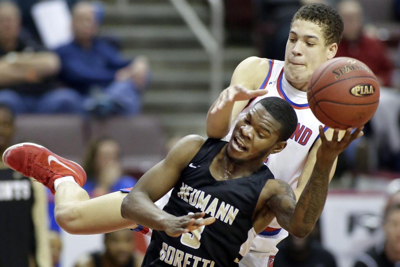 Dymir Montague leads Neumann-Goretti to fifth straight PIAA state championship
