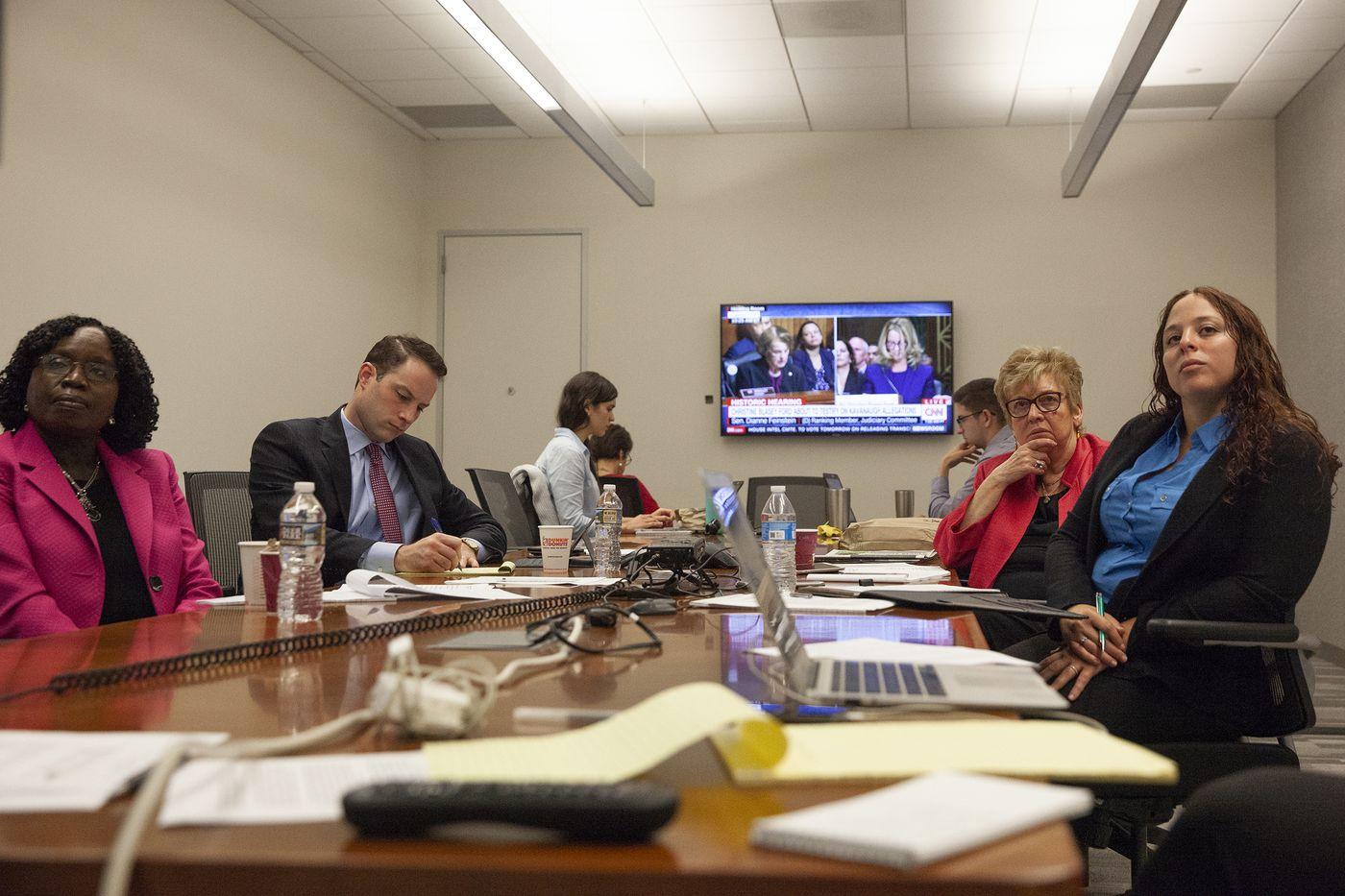 Philadelphia-area experts react to Kavanaugh's defiant defense
