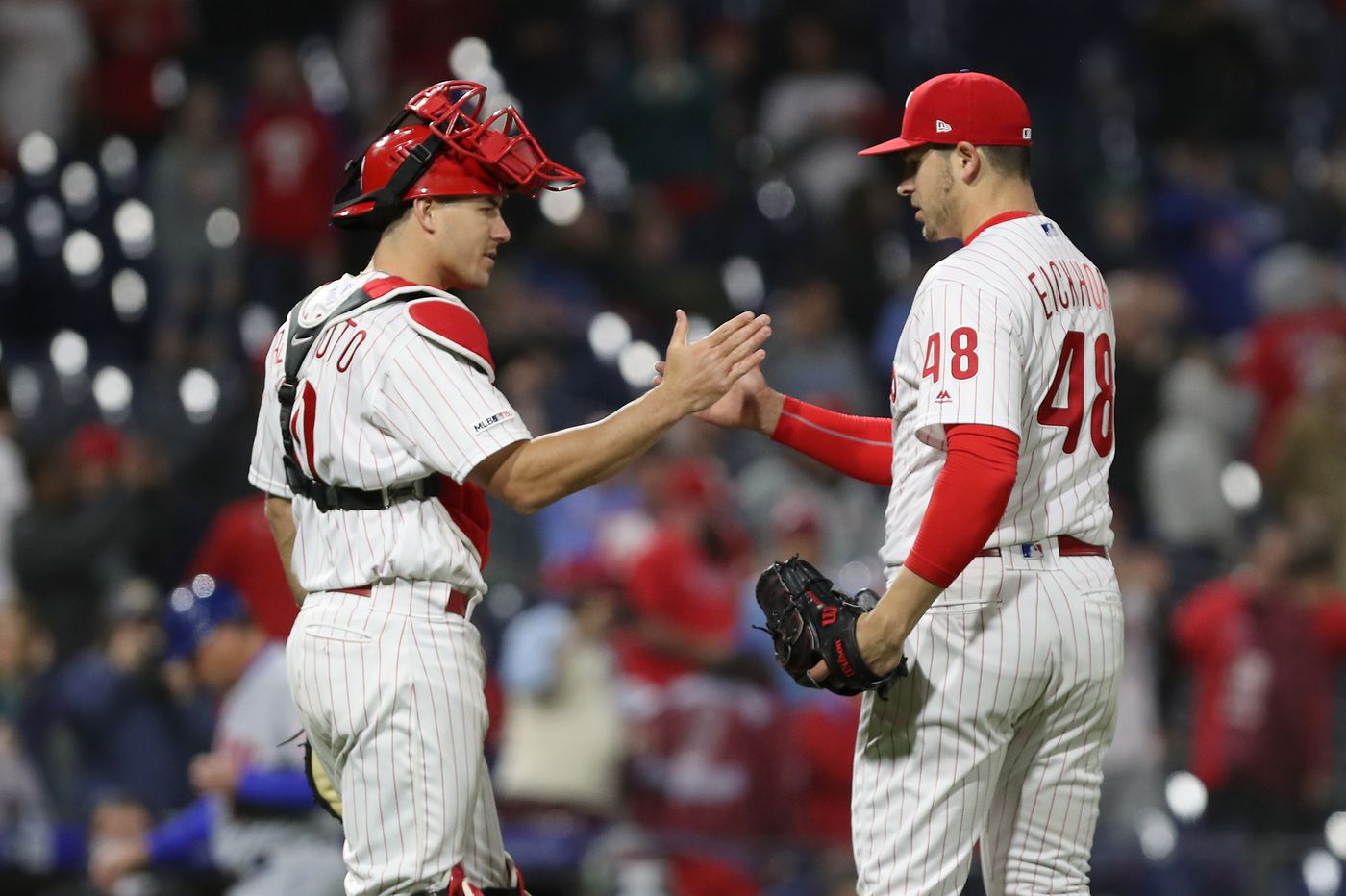 Phillies want pitchers to follow J.T. Realmuto's lead | Extra Innings