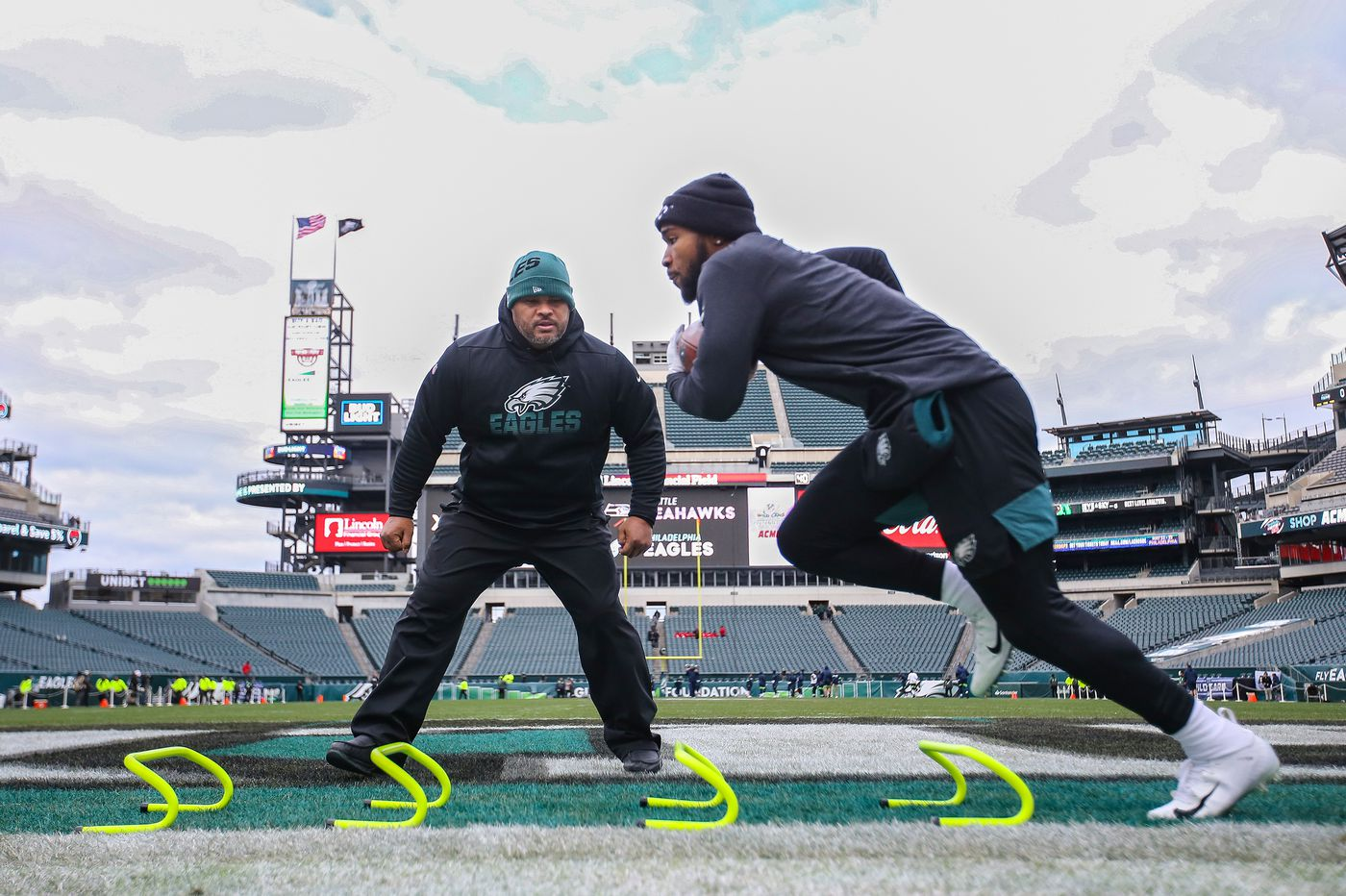 NFL scouting combine: 'Duce Staley drill' was added to the running backs' workouts. What is it?
