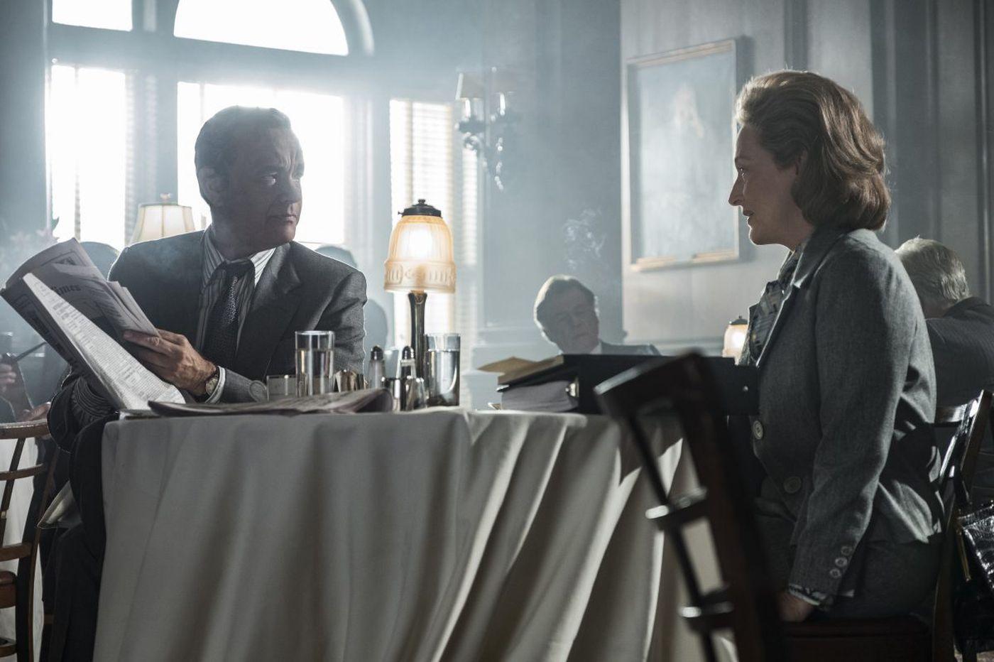 'The Post': Tom Hanks and Meryl Streep star in Steven Spielberg's stirring newsroom drama