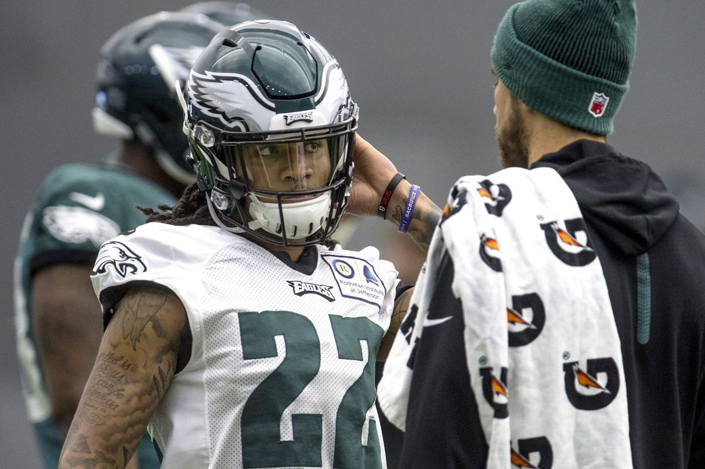 Eagles' Sidney Jones makes practice debut after 'long journey'