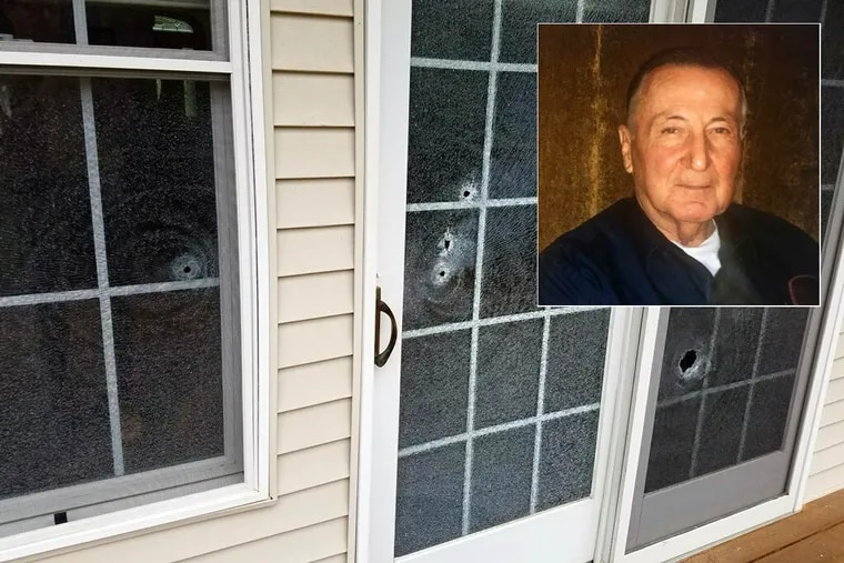 Gerald Sykes' family and his lawyer say a state trooper fired into the house through a glass door.
