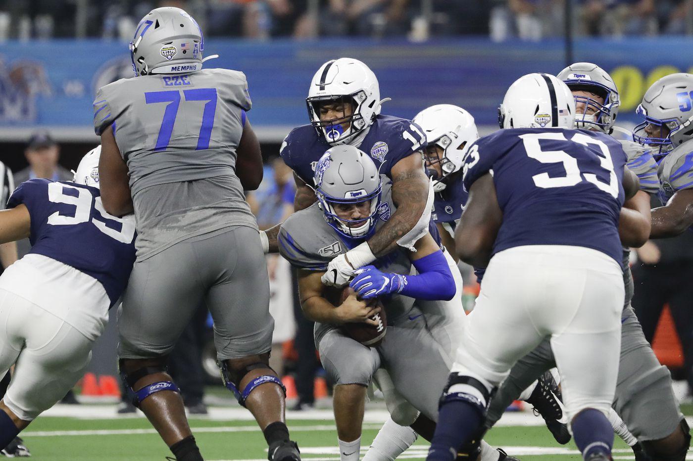 Penn State linebacker Micah Parsons sets a high standard with Cotton Bowl MVP award