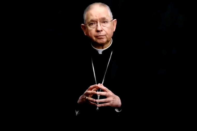 Archbishop José Gomez of Los Angeles, president of the U.S. Conference of Catholic Bishops.