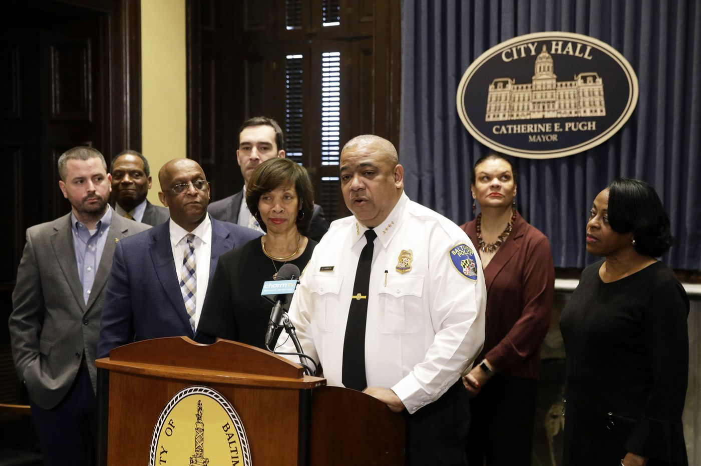 Baltimore's troubled police force gets new acting leader