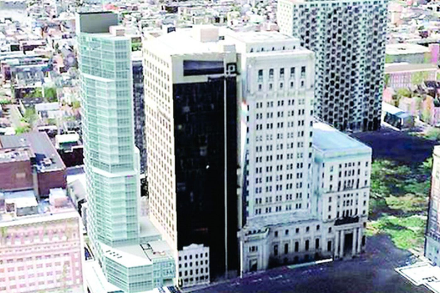 New luxury high-rise planned for historic area