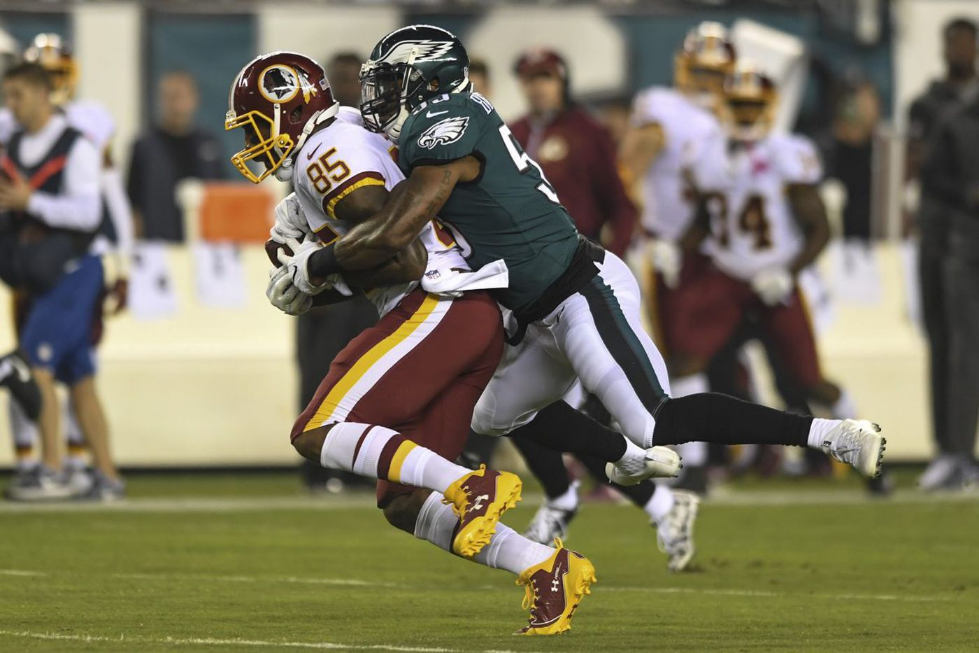 No running from the Eagles' defense
