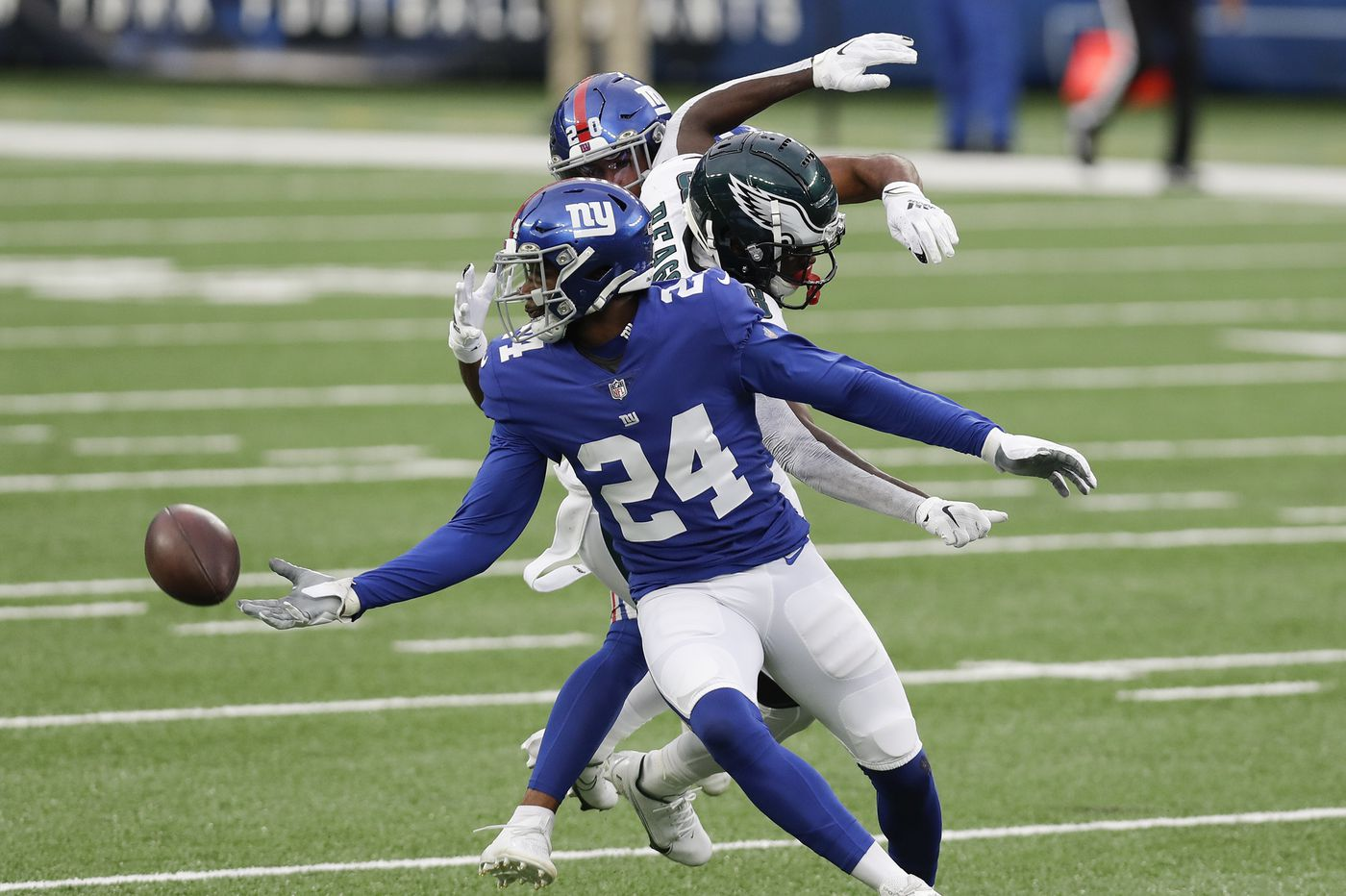 Eagles' special-teams coordinator on return issues vs. Giants: 'We've gotta catch the football'