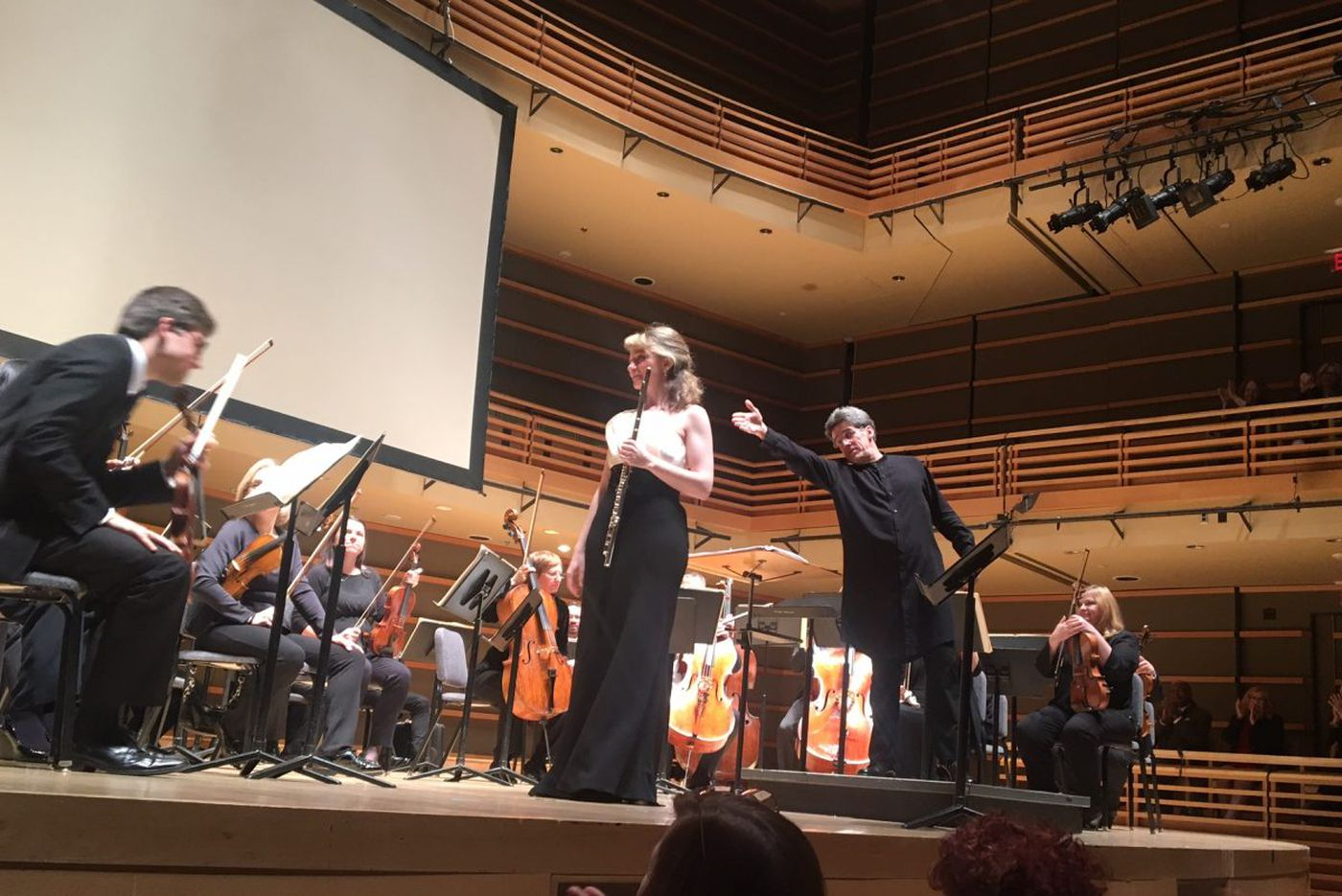 Chamber Orchestra of Philadelphia departs from the score and reaches for the stars