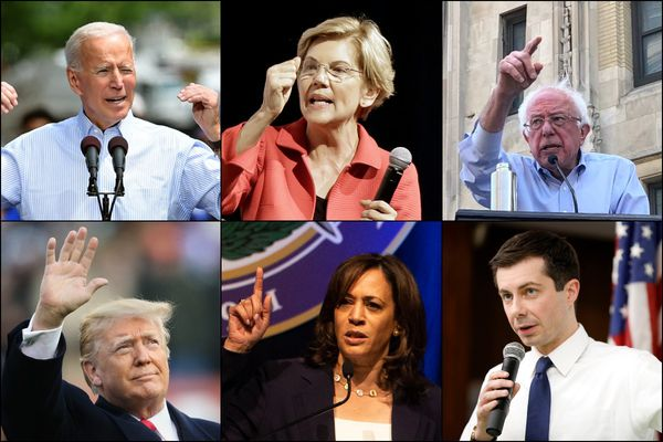 Pa. Democrats support Joe Biden and Elizabeth Warren, but will vote for anyone against Donald Trump in 2020, poll finds