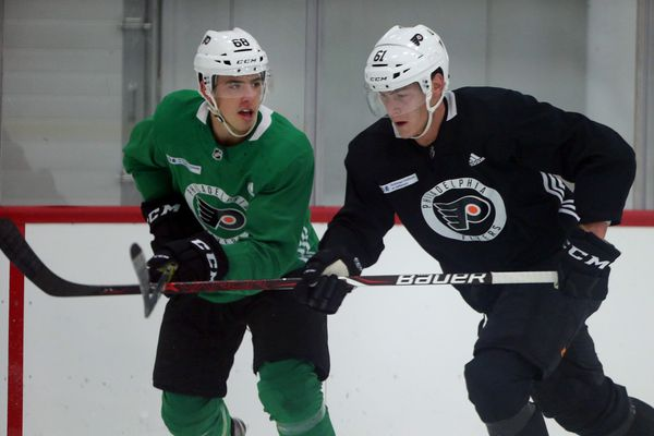 Flyers defensive prospect Phil Myers is developing quickly