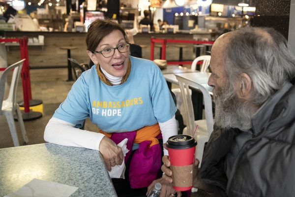 How the 'angel' of the Reading Terminal is helping the homeless come inside | Mike Newall