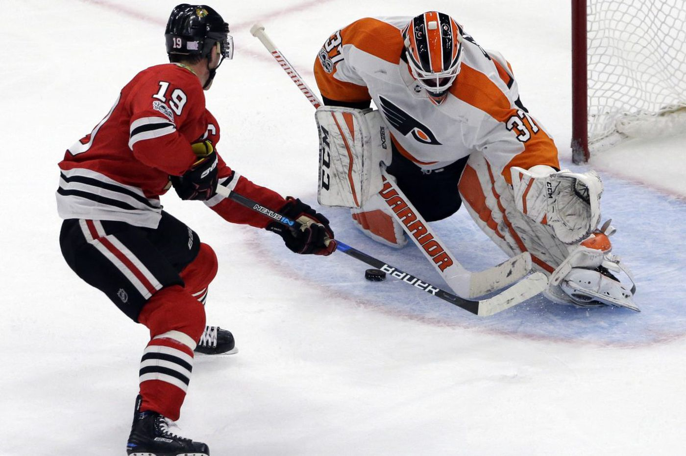 Flyers-Blackhawks recap: Jake Voracek gets hosed by the rules, other thoughts from a 3-0 loss