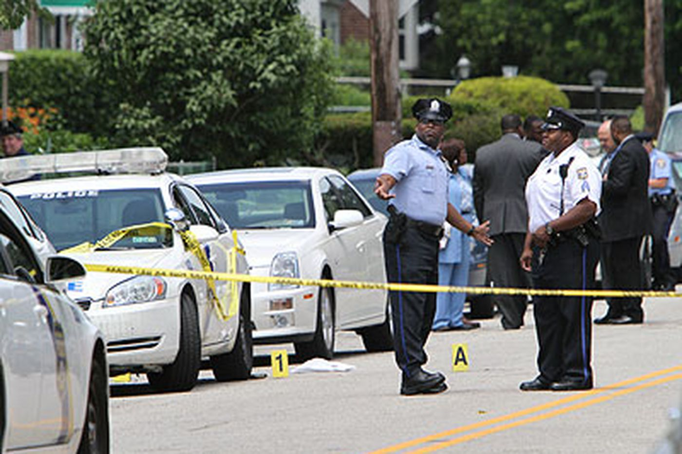 Philadelphia man shot to death by police officer
