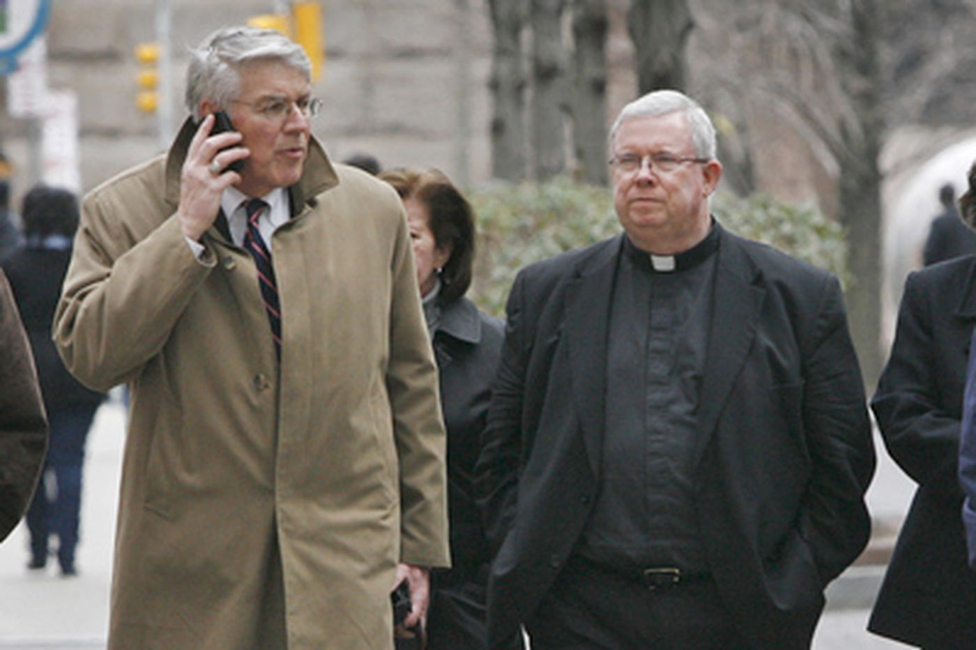 Monsignor's lawyers seek dismissal of enabling charges