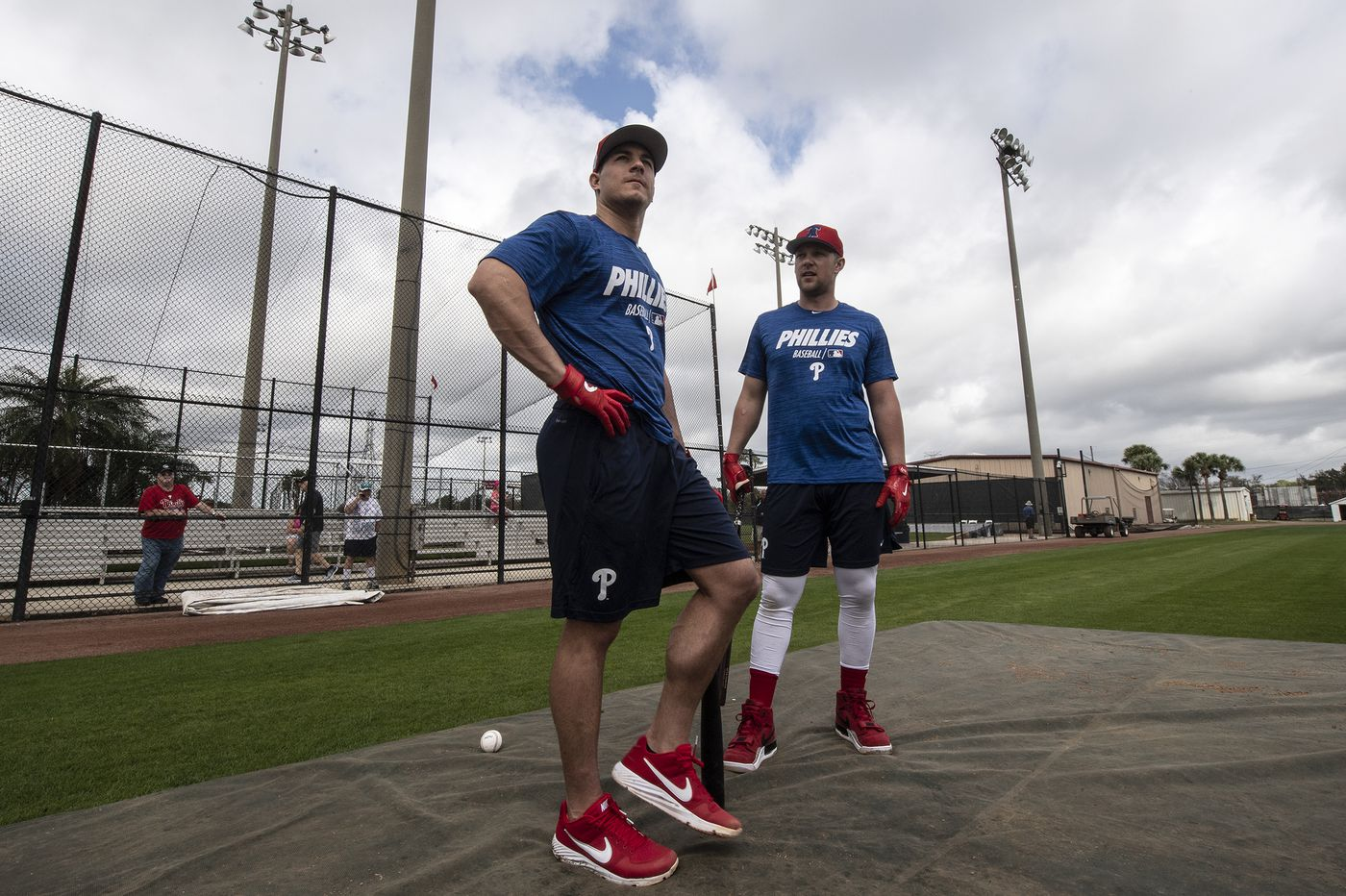 No talks yet, but J.T. Realmuto, Rhys Hoskins open to contract extensions with Phillies