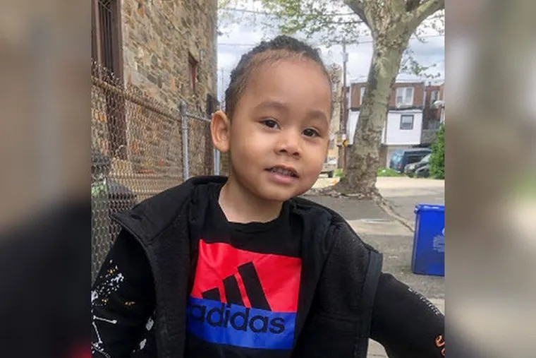 2-year-old King Hill was last seen on July 7th, 2020, at 31st and Page Streets in Strawberry Mansion, according to Philadelphia Police.