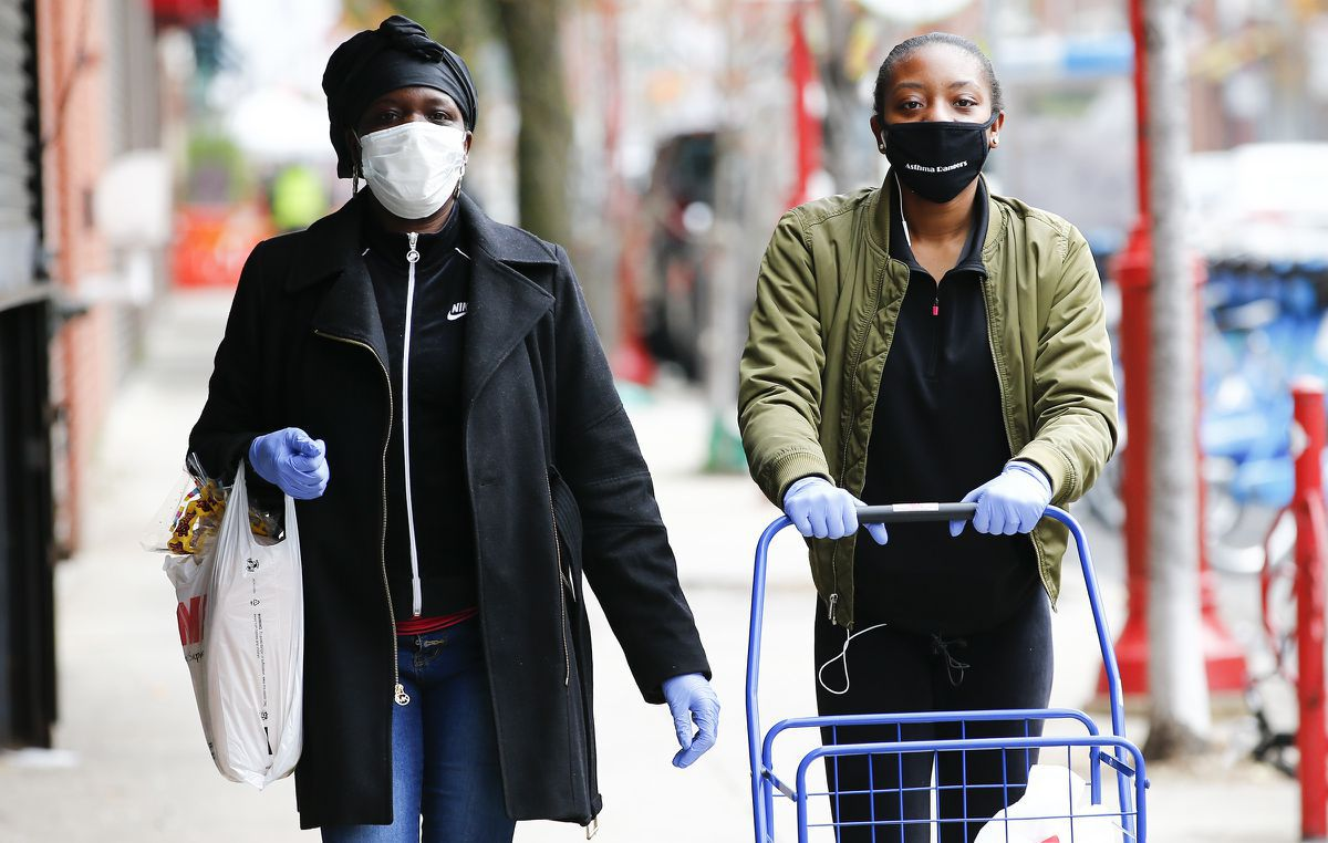 People should wear a cloth mask or facial covering when in public, new CDC guidance to say