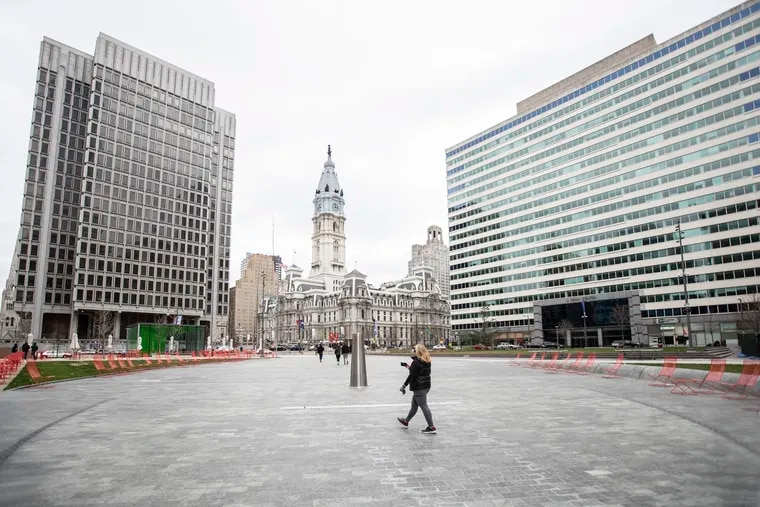 """Philadelphia Mayor Jim Kenney has ordered all Philadelphia residents to stay in their homes, except when engaging in """"life-sustaining"""" activities."""