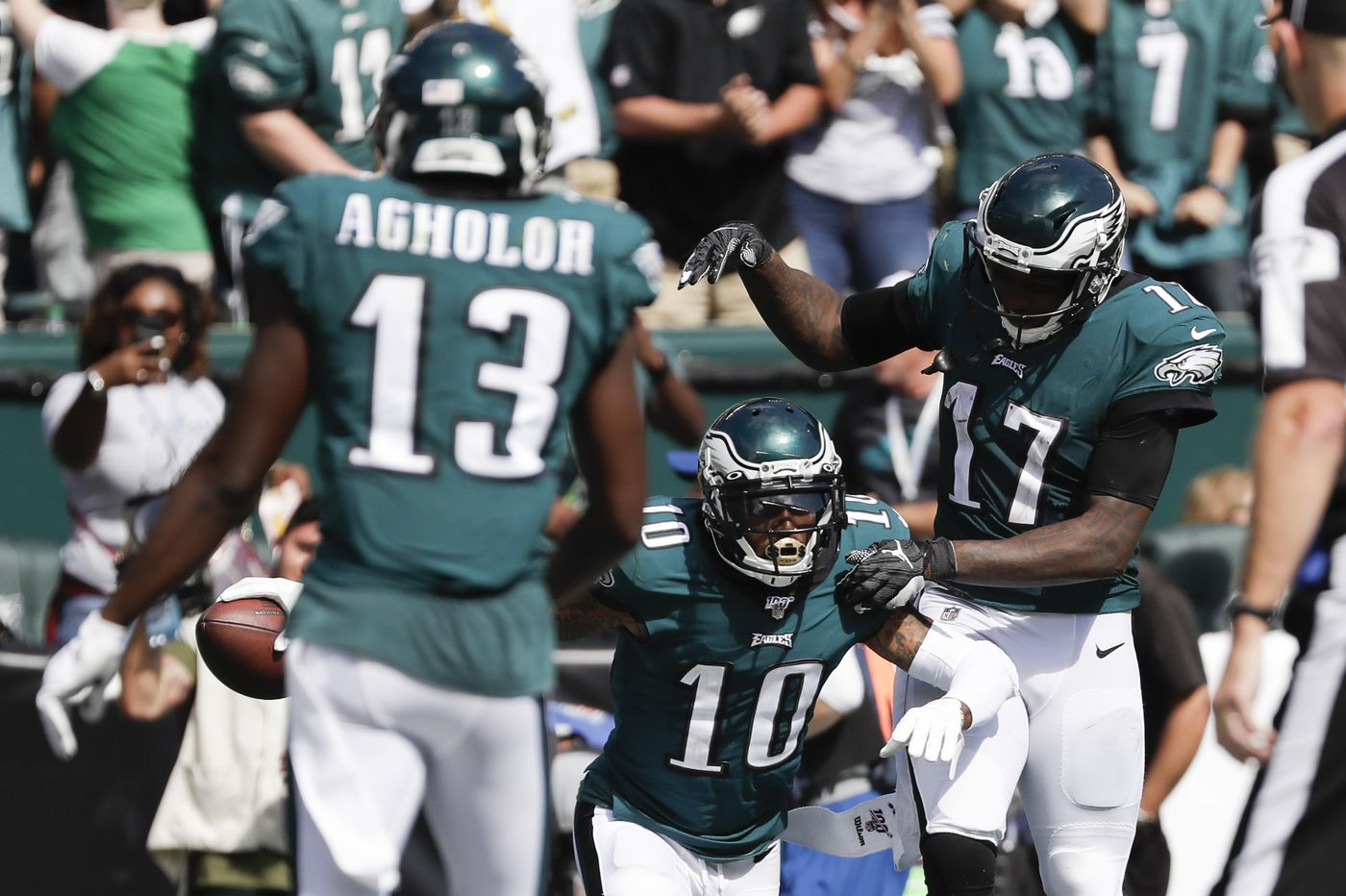 DeSean Jackson, Alshon Jeffery, and Nelson Agholor were supposed to be the Eagles' greatest collection of receivers. What went wrong?   Jeff McLane