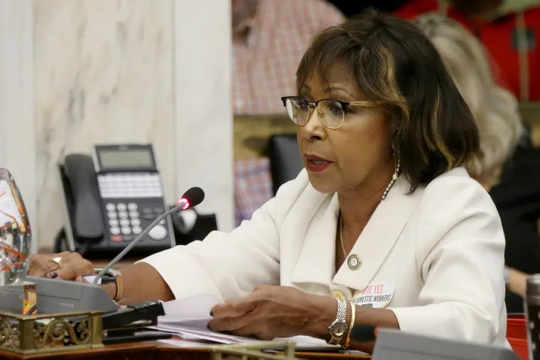Philadelphia City Councilwoman Blondell Reynolds Brown said she hopes to be working in city government again after leaving office next year.