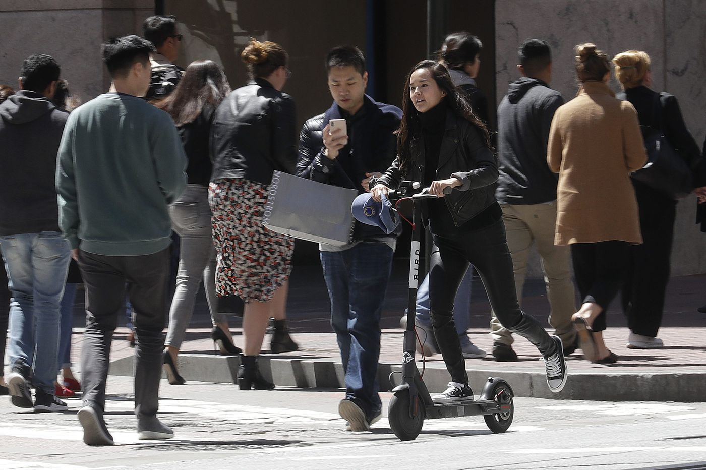 Philly has bad news for Bird, Lime: Electric scooters aren't street legal in Pa.