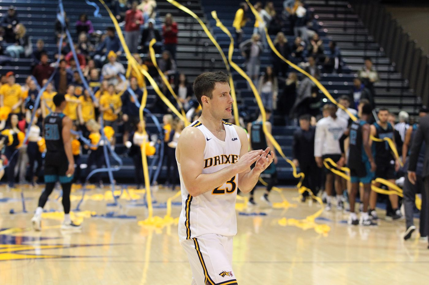 Sharpshooter Trevor John is making the most of his opportunity after transferring to Drexel