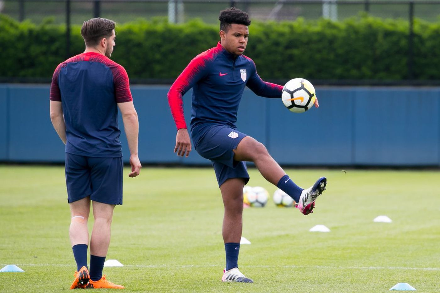 a903d9cc4 Weston McKennie looking to build on impressive U.S. national team debut