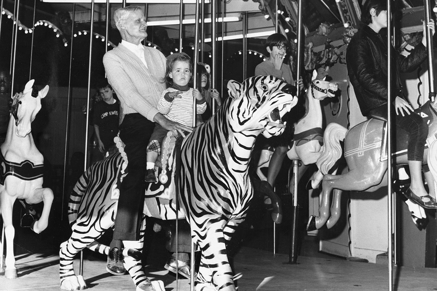 Hunting Park used to have a popular carousel. It lives on, nearly 500 miles away.