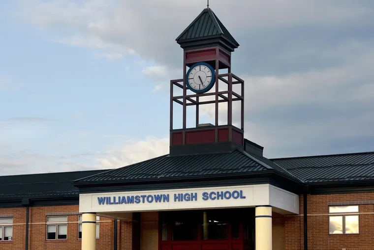 FILE PHOTO: Williamstown High School in Monroe Township in Gloucester County photographed October 11, 2017.