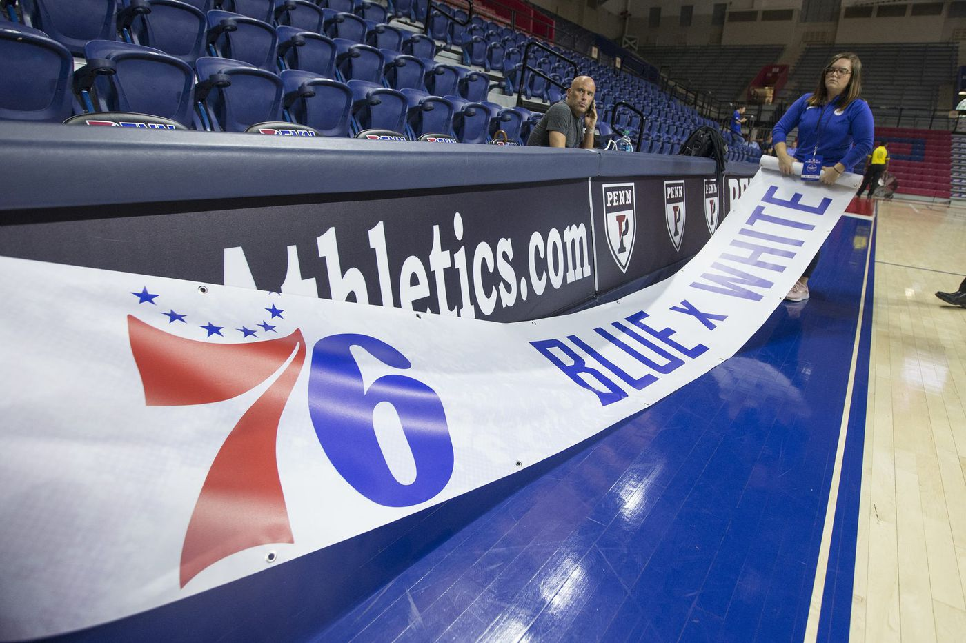 Sixers' Blue-White scrimmage canceled after Palestra experiences 'weather-related issues'