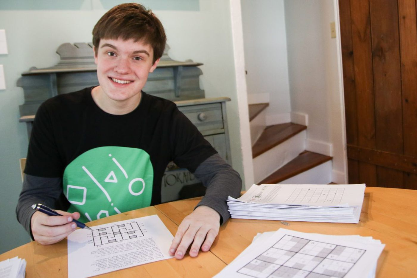 Doylestown teen is a world-class puzzle solver
