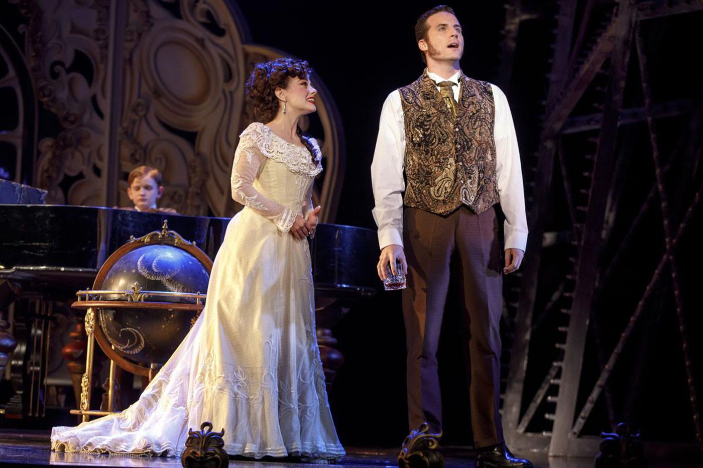 National tour of 'Love Never Dies,' sequel to 'Phantom,' comes to Academy of Music, with a Philly boy in the cast