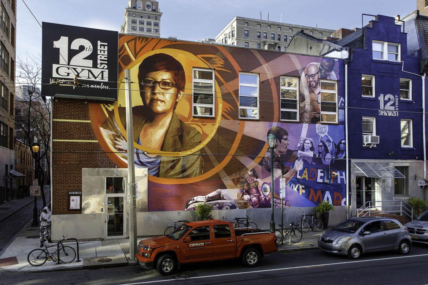 12th Street Gym's mural maybe in danger. The artist explains whatthe Gayborhoodrisks in losing it.