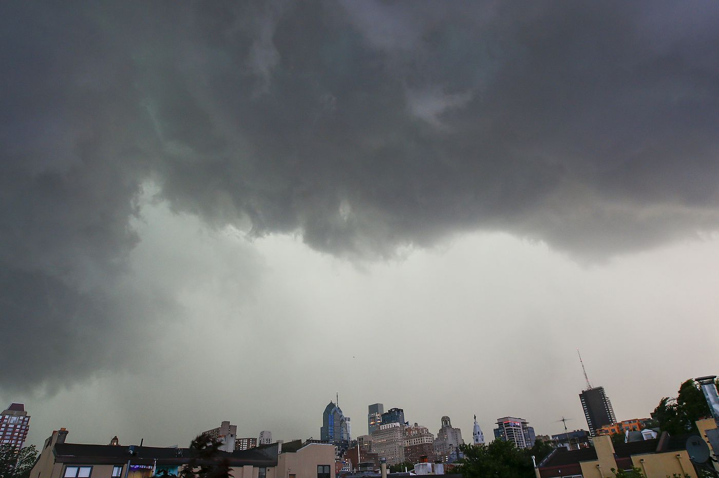 Thursday has a chance of damaging storms; Wednesday's brought deaths, but no tornado in Philly region