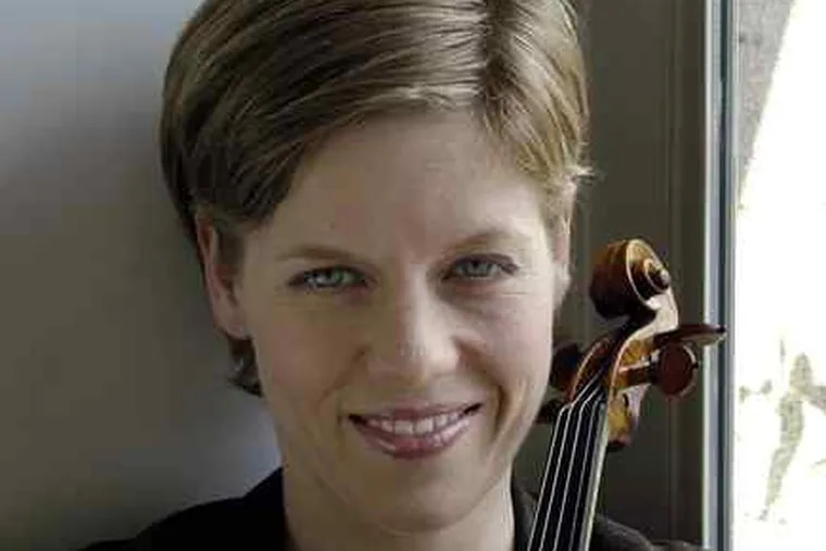 Isabelle Faust is one of Europe's most readily identifiable classical-music personalities, but is less-known in America.