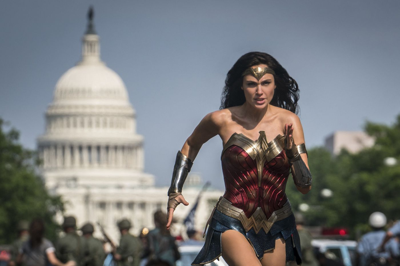 With big villains and bigger hair, 'Wonder Woman 1984' is a gloriously overstuffed sequel