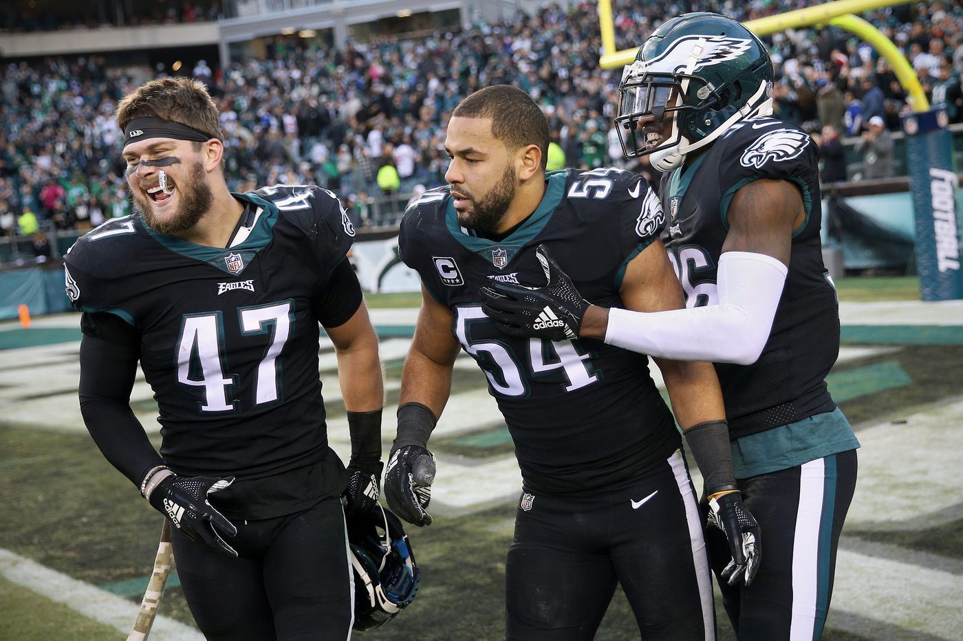 Will other teams continue to 'hunt' Eagles linebackers? | Bob Ford