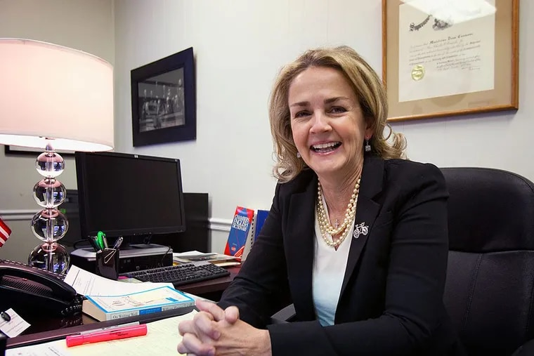 State Rep. Madeleine Dean, a Montco Democrat, is running for her party's nomination for lieutenant governor in next year's primary elections. (ED HILLE/Staff)