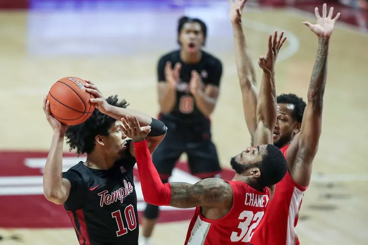 Jake Forrester helped Temple contain the nation's No.1 offensive rebounding team.