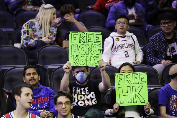 Sixers fan: I was ejected from Wells Fargo Center for pro-Hong Kong protest at game against Chinese team