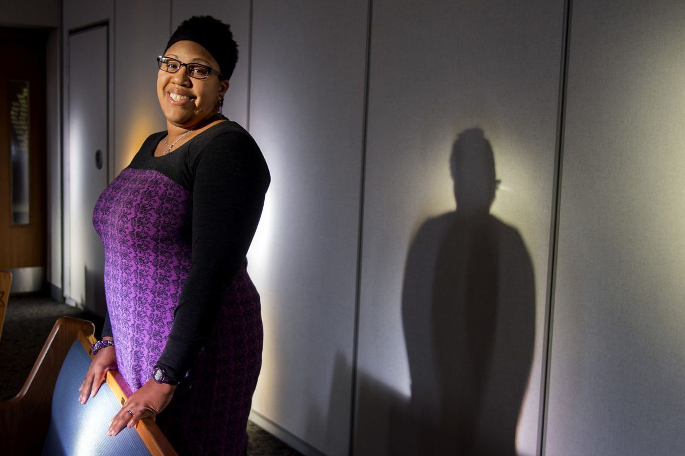 She's an African American rabbi with Southern Baptist roots